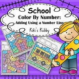 School: Color By Number Addition