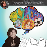 Thought Bubble No Prep Art Activity - Get to know you Activity