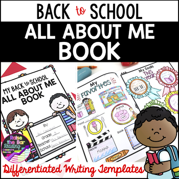 back to school all about me book with free writing and writing templates. Black Bedroom Furniture Sets. Home Design Ideas