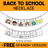 Back to School Activity Necklace Craft