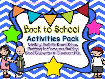 Back to School: Activity Pack!