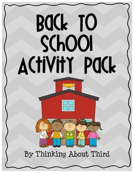 Back-to-School Activity Pack