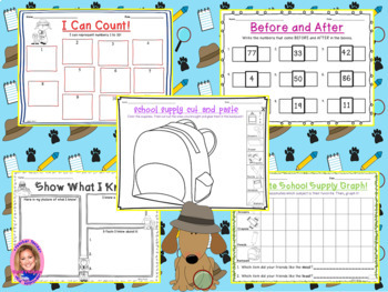 Back to School Activity Pack- DETECTIVE THEMED