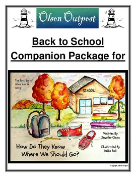 Back to School Activity Package