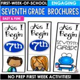 Back to School Activity Seventh Grade