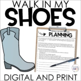Back to School Activity - Walk in My Shoes Project