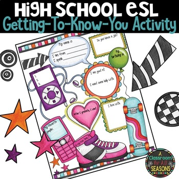 Back to School Activity for ELL