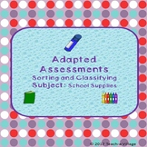 Back to School Adapted Assessments