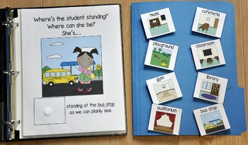 "Back to School Adapted Book--""Where's the Student Standing"""