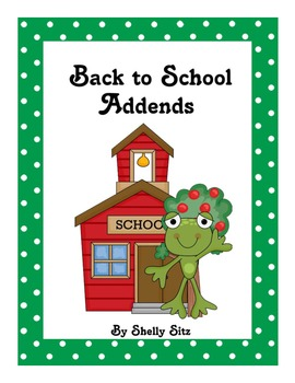 Back to School Addends