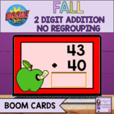 Back to School Addition Boom Cards | 2 Digit, No Regroupin