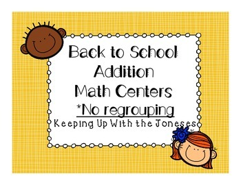 Back to School Addition Centers