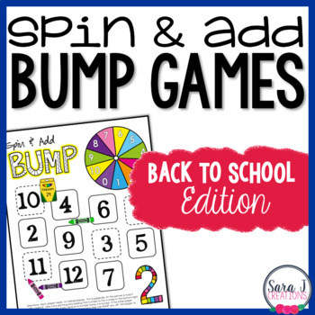 Back to School Addition Games