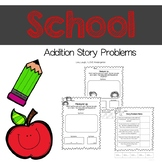 Back to School Addition Story Problems