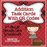 Addition Task Cards with QR Codes