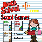 Back to School Addition and Subtraction Scoot Games