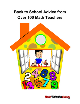 Back to School Advice from Over 100 Math Teachers