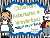 Back to School Alice in Wonderland Themed Classroom Decor
