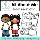 Back to School - All About Me!