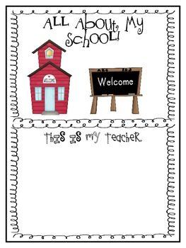 Back to School: All About Me!