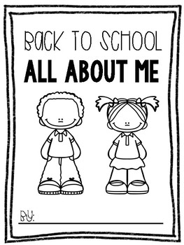 Back to School All About Me