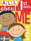 Back-to-School: All About Me Activity Book (First Grade)