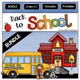 Kickstart the School Year BUNDLE: Back to School Activitie