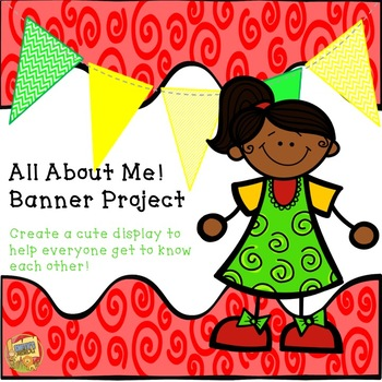 Back to School - All About Me Banners!  First Day of School FREEBIE!