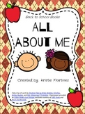 Back to School:  All About Me Book