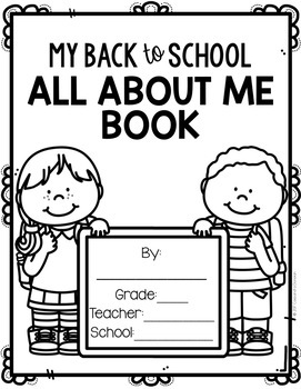 Back to School All About Me Book *Free*