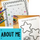 All About Me - A back to school book