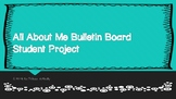 Back to School All About Me Bulletin Board Project to Build Classroom Culture