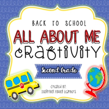 Back to School All About Me Craftivity- Second Grade