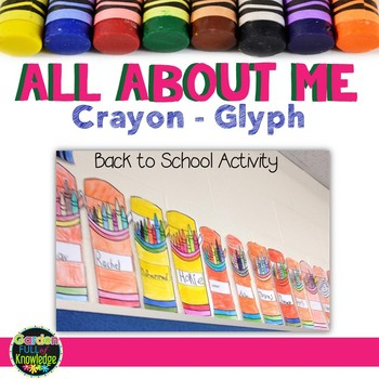 Back to School - All About Me - Crayon Glyph