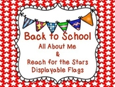 Back to School - All About Me Flags