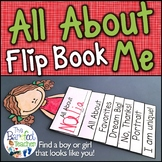 All About Me Flip Book Activity (Distance Learning)