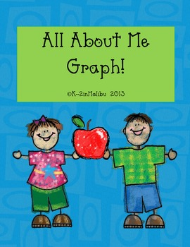 Back to School All About Me Graph