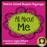 All About Me Graphic Organizer {Back to School}