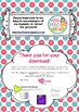 Back to School - All About Me - Homework Project