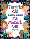 Back to School All About Me Lap Book (Terrific Kids) Common Core Inspired