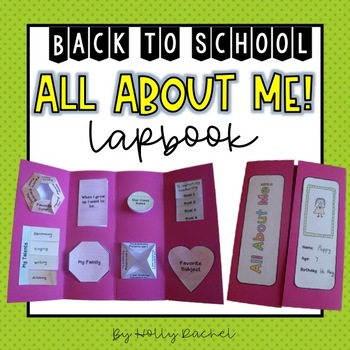 Back to School All About Me Lapbook
