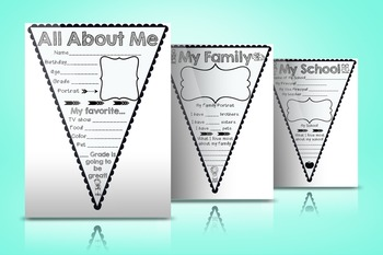 Back to School All About Me Mini-Banner