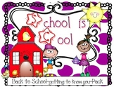 Back to School-All About Me-Pack