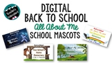 Back to School - All About Me - School Mascots