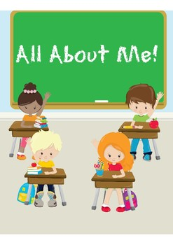 Back to School All About Me Theme