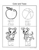 Back to School All About Me Tracing, Coloring & Drawing