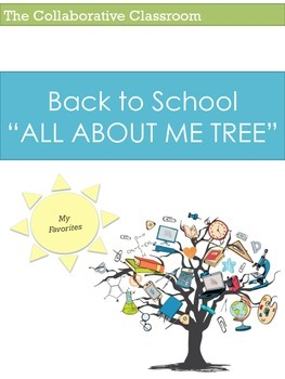 Back to School: All About Me Tree (Grades K-5) Get to Know Me Activity