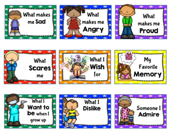 Back to School All About Me Writing Activity for the First Month of School