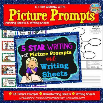 All About Me Writing Activity