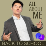 Back to School:  All About Me for ESL students